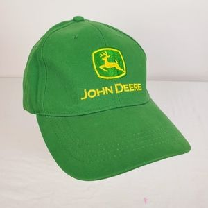 John Deere Farmers Hat Patch Logo Stotz Equipment